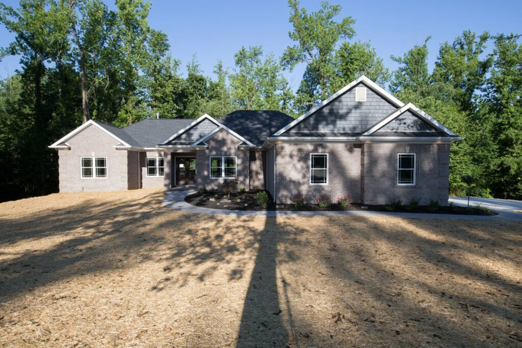 2017 evansville parade of homes 2017 home of the year front elevation