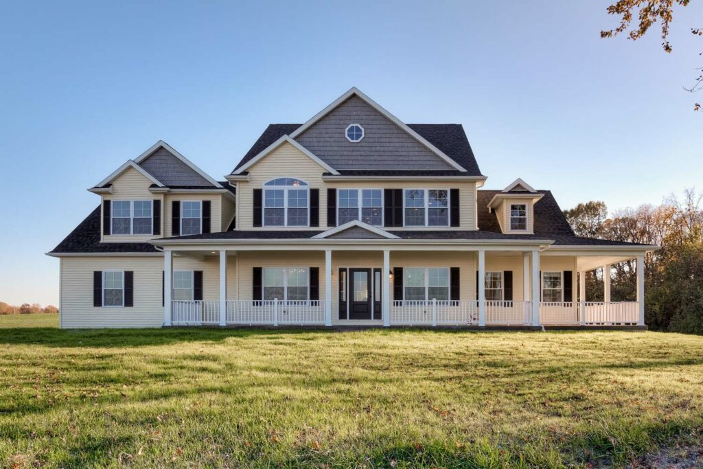 Owensville, IN Custom Home Front