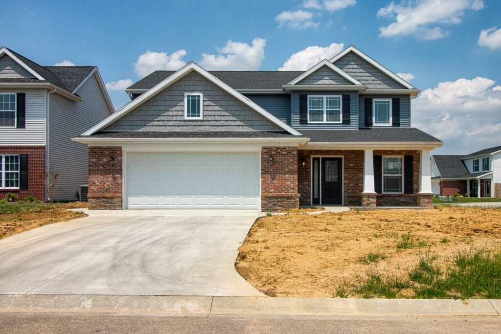 Kinway Park Lot 50 | Evansville Parade of Homes | Front Elevation 1