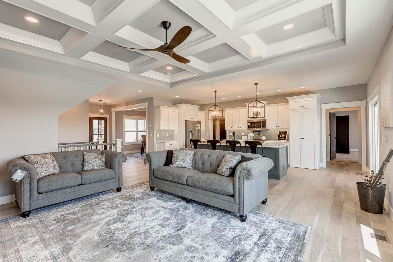 Evansville Parade of Homes | Reinbrecht Homes | Centerra Ridge Lot 156 Living Room