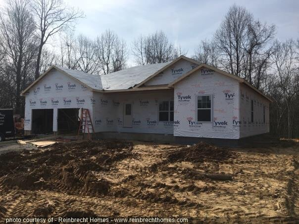 Tyvek House Wrap | Reinbrecht Homes